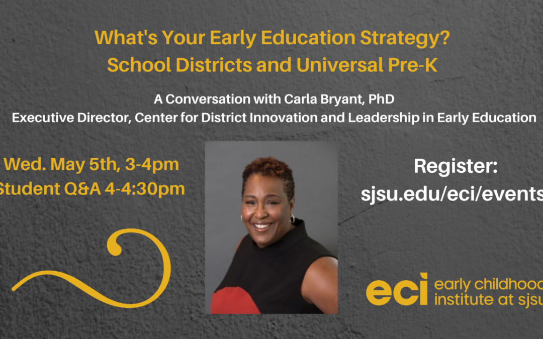 What Is Your Early Education Strategy?